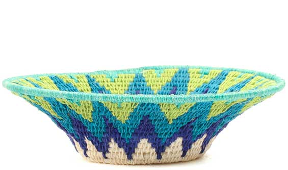 African Basket - Swaziland - Sisal Bowl -  6.5 Inches Across - #71567