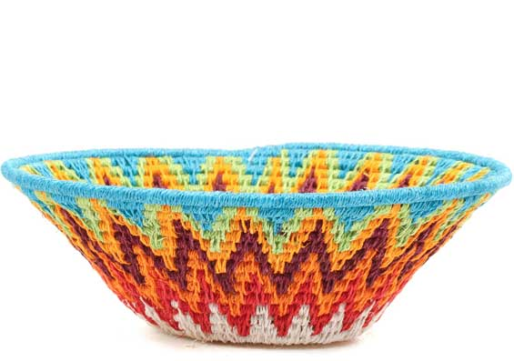 African Basket - Swaziland - Sisal Bowl -  6.25 Inches Across - #71577