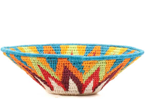 African Basket - Swaziland - Sisal Bowl -  6.25 Inches Across - #71579