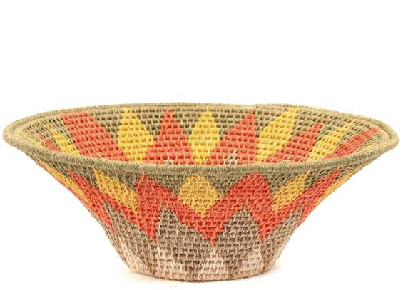 African Basket - Swaziland - Sisal Bowl -  6 Inches Across - #71583