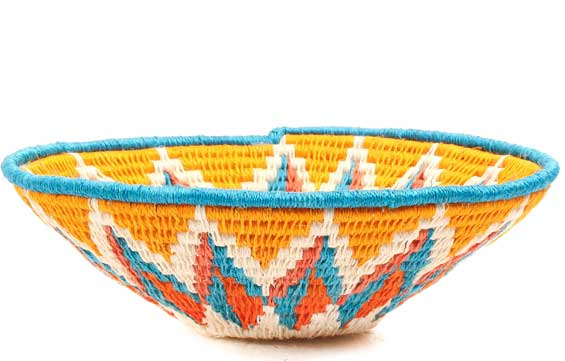African Basket - Swaziland - Sisal Bowl -  6.5 Inches Across - #71593