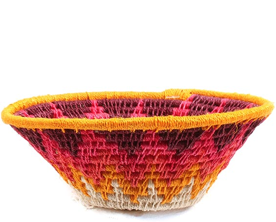 African Basket - Swaziland - Sisal Bowl -  4.5 Inches Across - #72644