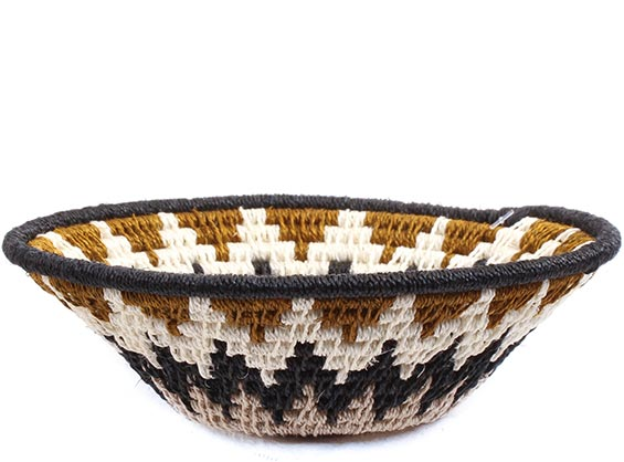 African Basket - Swaziland - Sisal Bowl -  5 Inches Across - #72664