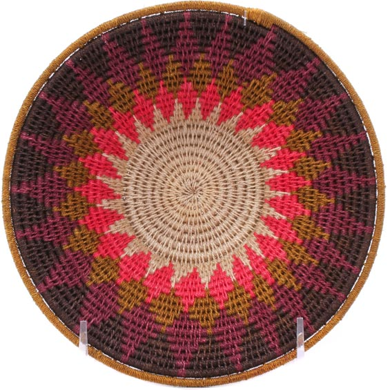 African Basket - Swaziland - Sisal Bowl -  6.25 Inches Across - #76058