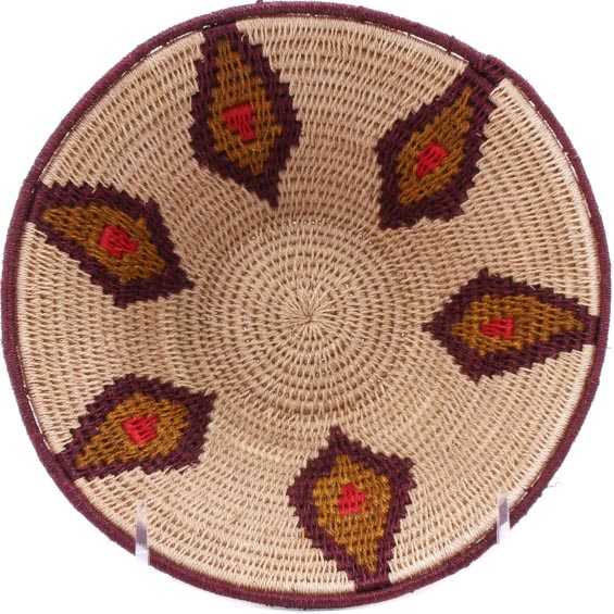 African Basket - Swaziland - Sisal Bowl -  6.5 Inches Across - #76059