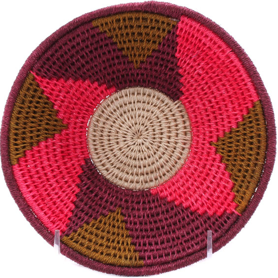 African Basket - Swaziland - Sisal Bowl -  6.75 Inches Across - #76060