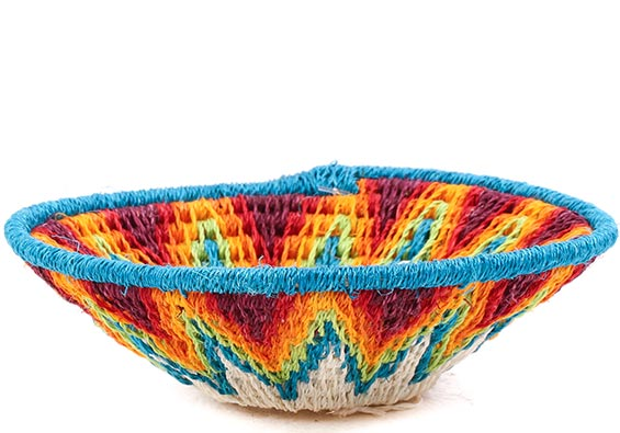 African Basket - Swaziland - Sisal Bowl -  4.5 Inches Across - #76063