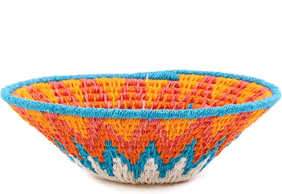 African Basket - Swaziland - Sisal Bowl -  5 Inches Across - #76065