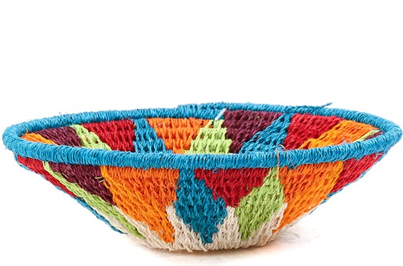 African Basket - Swaziland - Sisal Bowl -  4.5 Inches Across - #76066
