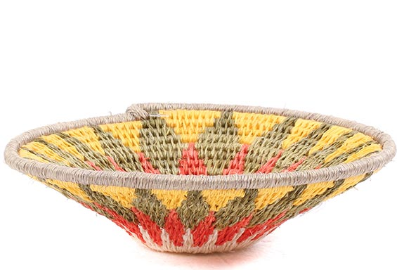 African Basket - Swaziland - Sisal Bowl -  4.5 Inches Across - #76071