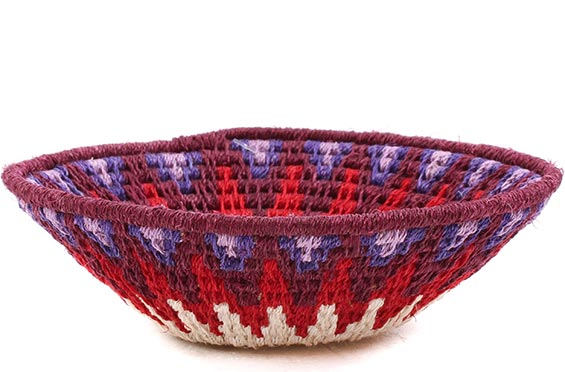 African Basket - Swaziland - Sisal Bowl -  5 Inches Across - #76072