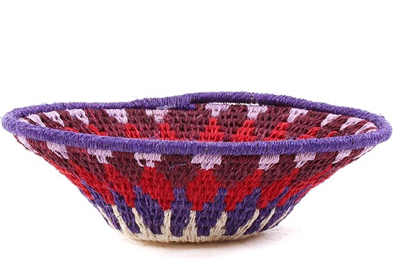 African Basket - Swaziland - Sisal Bowl -  5 Inches Across - #76074