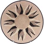 African Basket - Swaziland - Sisal Bowl -  9.5 Inches Across - #76077