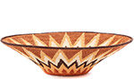 African Basket - Swaziland - Sisal Bowl -  9.25 Inches Across - #76078