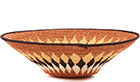 African Basket - Swaziland - Sisal Bowl -  9 Inches Across - #76079