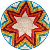 African Basket - Swaziland - Masterweave Bowl - 12.25 Inches Across - #77958