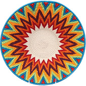 African Basket - Swaziland - Masterweave Bowl - 12 Inches Across - #77959