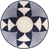 African Basket - Swaziland - Masterweave Bowl - 12 Inches Across - #77963
