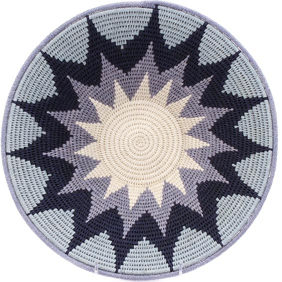 African Basket - Swaziland - Masterweave Bowl - 12.25 Inches Across - #77965