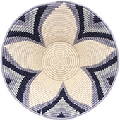 African Basket - Swaziland - Masterweave Bowl - 12.25 Inches Across - #77966