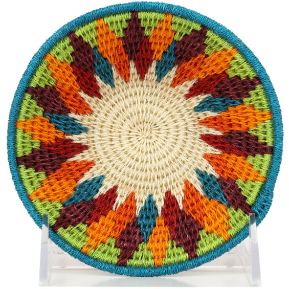 African Basket - Swaziland - Sisal Bowl -  5 Inches Across - #91217
