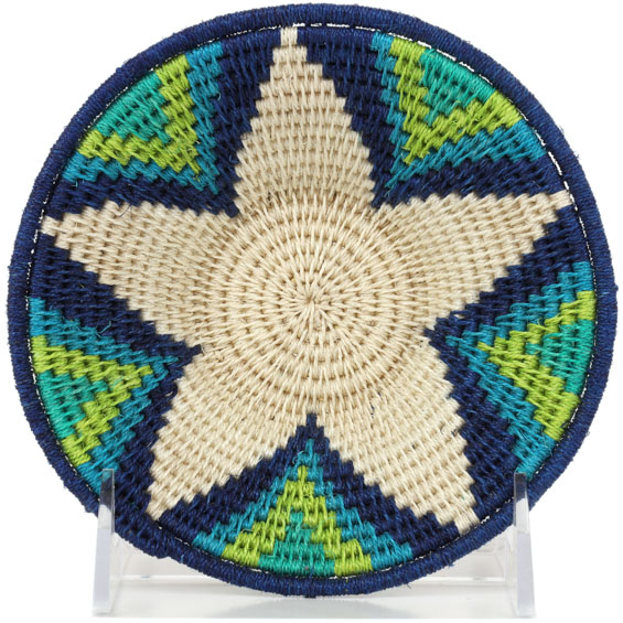 African Basket - Swaziland - Sisal Bowl -  5.25 Inches Across - #91225