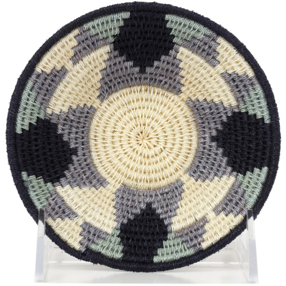 African Basket - Swaziland - Sisal Bowl -  4.75 Inches Across - #91226
