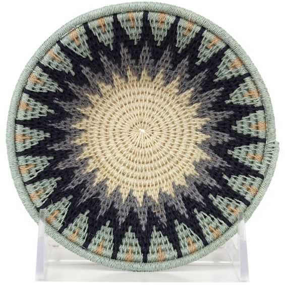 African Basket - Swaziland - Sisal Bowl -  5 Inches Across - #91227