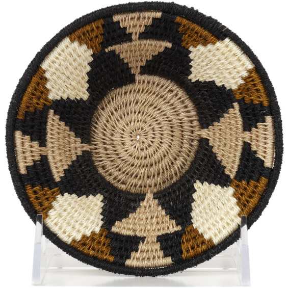 African Basket - Swaziland - Sisal Bowl -  5 Inches Across - #91232