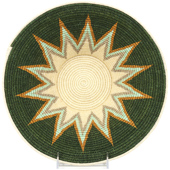 African Basket - Swaziland - Masterweave Bowl - 12.5 Inches Across - #93535