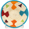 African Basket - Swaziland - Sisal Bowl -  6 Inches Across - #94625