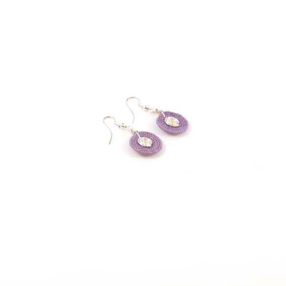 Small Disk Spiral Earrings<br>SJE03LL