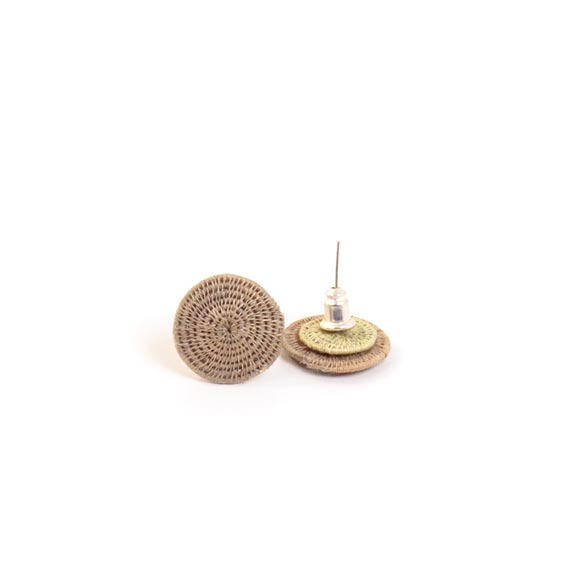 Small Classic Stud Earrings <br>SJE08OY