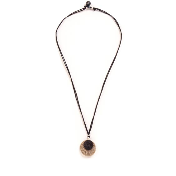 2 Eclipsing Disks Necklace<br>SJN04MP