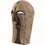 Traditional African Mask - Songye Kifwebe Mask - 15 Inches Tall - #24590