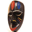 Traditional African Mask - Fang Passport Mask -  5.75 Inches Tall - #24618