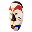 Traditional African Mask - Fang Passport Mask -  6.5 Inches Tall - #33549