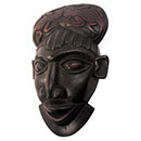 Traditional African Mask - Senufo Kpeliye'e Mask - 10.5 Inches Tall - #33575