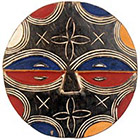 Traditional African Mask - Teke Mask - 11 Inches Tall - #33648