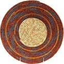 African Basket - Uganda - Rwenzori Bowl - 10.25 Inches Across - #63309