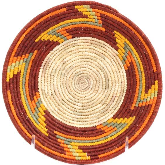 African Basket - Uganda - Rwenzori Bowl -  6.25 Inches Across - #71633
