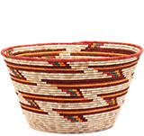 African Basket - Uganda - Rwenzori Basket - 14.5 Inches Across - #73427
