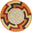 African Basket - Uganda - Rwenzori Bowl -  7.25 Inches Across - #77811