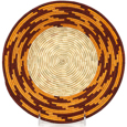 African Basket - Uganda - Rwenzori Bowl -  10 Inches Across - #91034