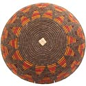 African Basket - Zulu Ilala Palm - Shallow Bowl - 16 Inches Across - #64424