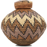 African Basket - Zulu Ilala Palm - Isichumo - 9 Inches Tall - #92129