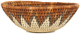 African Basket - Zulu Ilala Palm - Woven Herb Bowl -  8.5 Inches Wide - #92632