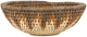 African Basket - Zulu Ilala Palm - Woven Herb Bowl -  7.75 Inches Wide - #92633