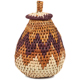 African Basket - Zulu Ilala Palm - Woven Herb Basket -  5.5 Inches Tall - #93988