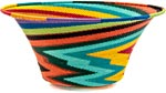 African Basket - Zulu Wire - Large Flared Bowl #39569